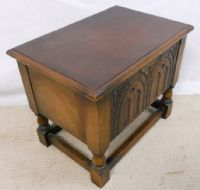 Small Oak Slipper Box